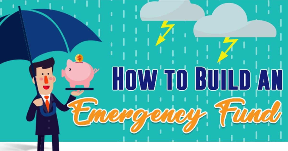 How to build an emergency fund (Infographic)